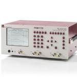 Analizator PSM1735 jest wyposażony w wyświetlacz monochromatyczny do prezentacji wykresów wzmocnienia / fazy w dziedzinie częstotliwościowej