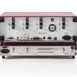 Moduł IAI2 jest podłączony do analizatora PSM3750 z tyłu obudowy. Złącza GEN, CH1 i CH2 - do odpowiednich złączy analizatora